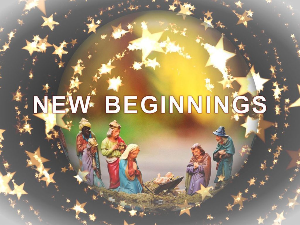 Touch Base December 2020: New Beginnings